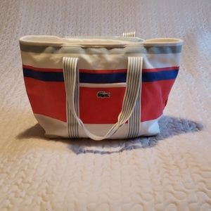 Lacoste Zippered Tote